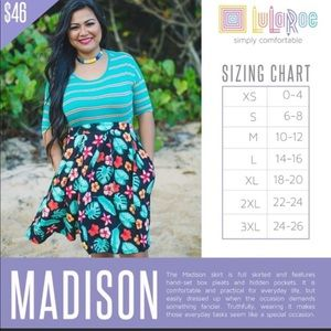 Lularoe Madison skirt 3xl